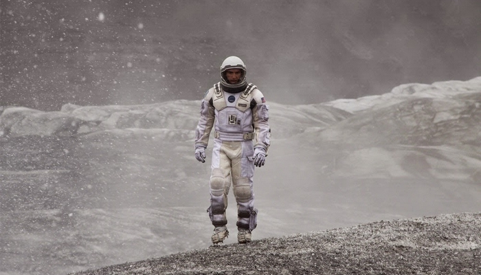 Kadr z filmu Interstellar