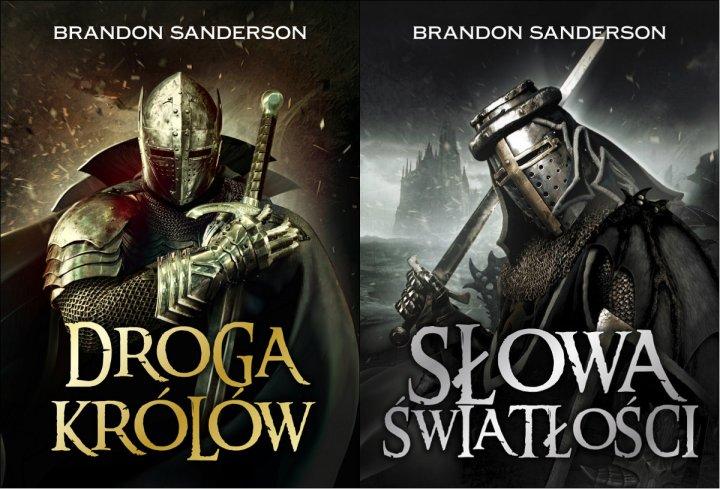 Brandon Sanderson Archiwum burzowego światła Droga królów Słowa światłości